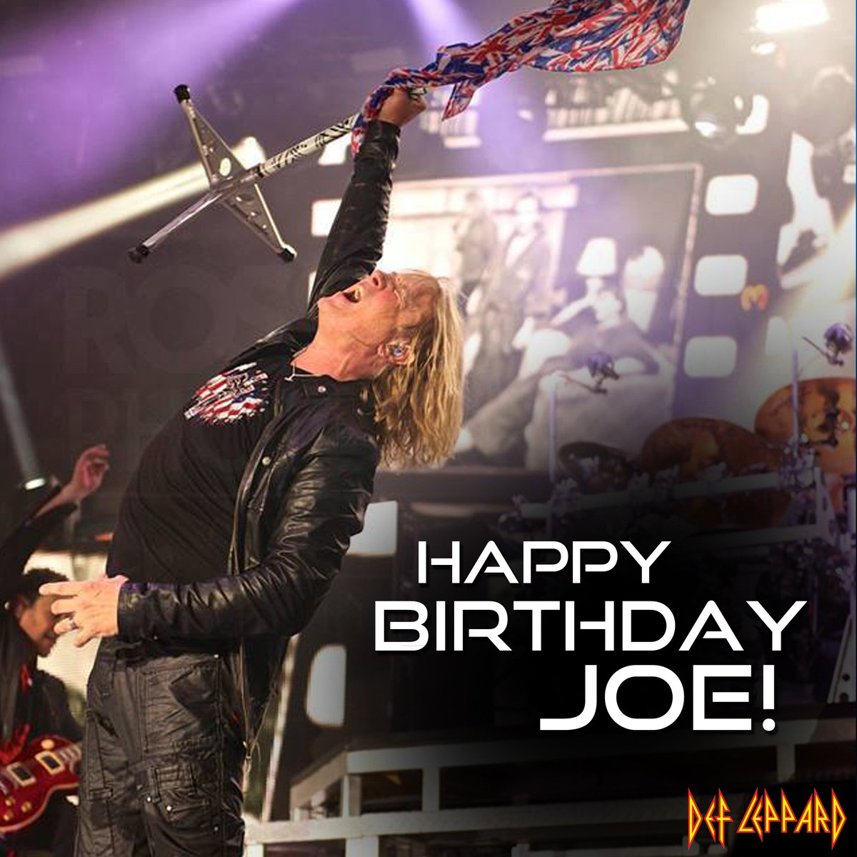 Join us in wishing a HAPPY BIRTHDAY to our very own Joe Elliott! Blast some Leppard LOUD today & send Joe your love! https://t.co/lIIhu4ohrB