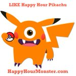 LIKE Happy Hour #Pikachu! Get @HappyHRMonster for FREE on your cell to find happy hours in #NYC. #Pokemon #PokemonGO https://t.co/yUwu3GJRSj