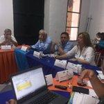 #ColdeportesCumple #JuegosBolivarianos Hoy entregamos a @SantaMartaDTCH análisis de proyecto general de escenarios. https://t.co/hy6CiJ6PsM