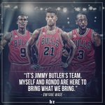The Bulls are Jimmy Butlers team. https://t.co/mBaWHivp3f