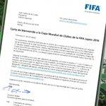 Carta de bienvenida a la Copa Mundial de Clubes de la FIFA Japón 2016. #NacionalDaleCampeón https://t.co/TBLnbiAZa3 https://t.co/HmYAwj5rlQ