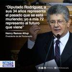 #HayLesDejo Ramos Allup refutó críticas de Héctor Rodríguez: Usted representa el pasado que está muriendo. https://t.co/pL74qjRAsU