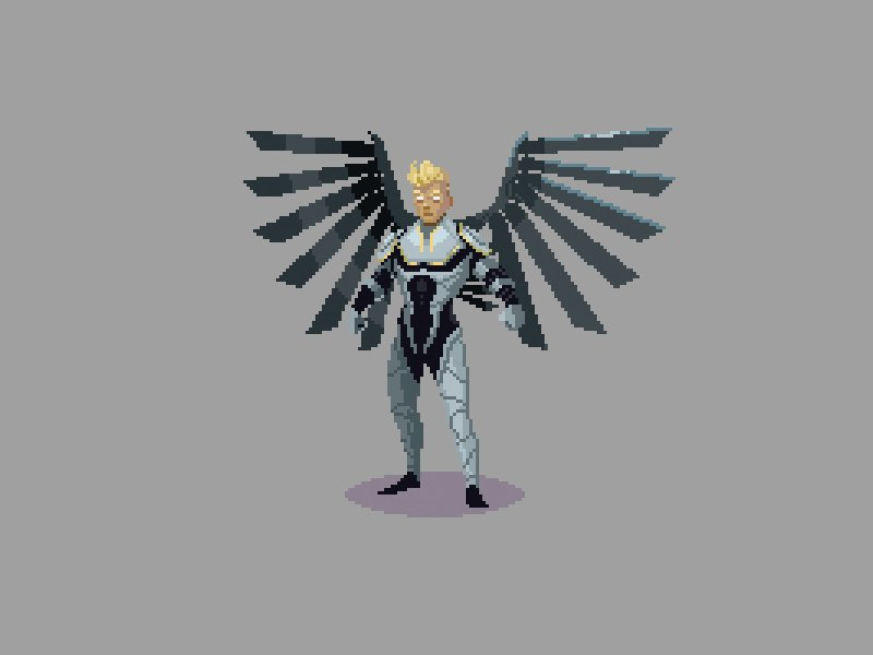 #XMenApocalypse #pixelart project. Hope I get to work on something like this again! https://t.co/g6IuadCOOk