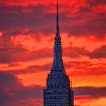 Gorgeous #sunset tonight in #NYC. #NewYork #NewYorkCity https://t.co/X7MmwU22kp