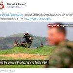 Asesinado soldado de la Patria https://t.co/osEhVRSYU5