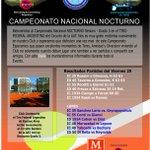 CAMPEONATO NACIONAL SENIORS NOCTURNO TIRO FEDERAL ARGENTINO Daily Viernes 29 de Julio. https://t.co/PQD8jk03as