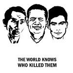 THE WORLD KNOWS WHO KILLED THEM #ChutWutty #KemLey #CheaVichea Powerful art by F Lambrick, via @patdebrun. #Cambodia https://t.co/aBDdzRi6dG