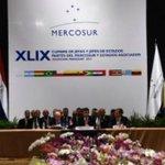 """Paraguay: presidencia del Mercosur está """"vacante"""" y no habrá traspaso a Venezuela https://t.co/bMzMPV32Fr https://t.co/l8ngGIJMcr"""