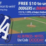 RT for chance to Win #Dodgers Bag! Get $10. Free for #DodgersTickets https://t.co/yZ4eNhNEZw https://t.co/rUPonmhTl9