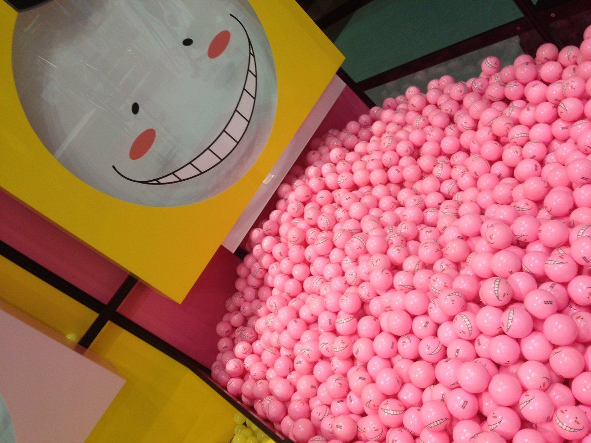 【ジャンプビクトリーカーニバル】透明の殺せんせーの中にさらに殺ボールをいれて先生に色をつけていこう♪…