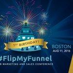 Join us at @FlipMyFunnel Boston 8/11. Use EVERSTRING50 for 1/2 off #flipmyfunnel tixs. https://t.co/MKPwLyGnjA #ABM https://t.co/9gbgtS3bxa