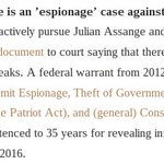 @nytimes @andyrNYT If Assange lived under Obama he would be in prison; that is why is has political asylum. https://t.co/DgRcf4eSWk