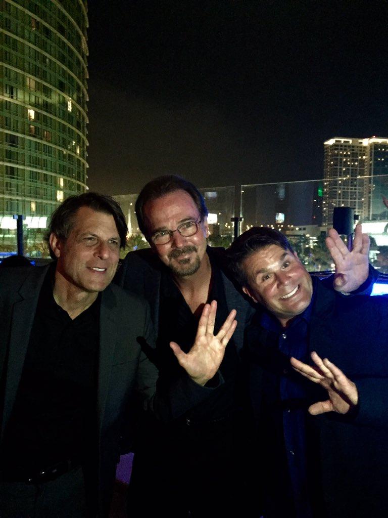 Nimoy, Doohan and Roddenberry  together again!! #startrek https://t.co/ekL2R1v1Ab