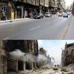 تواطؤ دولي وصمت عربي واسلامي مريب‼️ #حلب بين الأمس واليوم https://t.co/EOcQWVRBuz