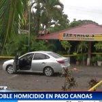Dos panameños fueron asesinados esta tarde en la zona fronteriza de Paso Canoas https://t.co/JAsdkLFPMe https://t.co/PhosE220CW