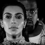 """Kanye West and Kim Kardashian cry their way through the """"Wolves"""" video: https://t.co/2WahlbrFXN https://t.co/9kHzZcd446"""