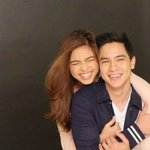 Sweet💜Saturdate That someone who can make you smile like that.. ©marksablan l @mainedcm @aldenrichards02 #EBisLove https://t.co/RV97N383Wm