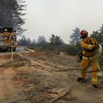#SanMateo crew on OES Engine 291 continuing to work on the #SoberanesFire #OutOfCounty https://t.co/ww6ONr7u8A