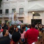 #SantaMarta491años La procesión a Nuestra Señora de Santa Marta recorre las principales calles de la ciudad https://t.co/avL7yreW9u