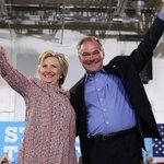 Hillary Clinton and Tim Kaine kick off a 3-day bus tour through the Rust Belt https://t.co/xuSMVre137 https://t.co/DWkbs3iUVa
