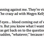 """Some more Trump in Colorado Springs - rehashing Megyn Kelly: """"I was talking about her nose. Maybe her ears."""" https://t.co/bRM2tpJgb3"""