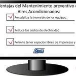 Ventajas del Mantenimiento Preventivo de Aires Acondicionados via @SigmaPanama (507) 209-1490 #Panama https://t.co/TF7SC0Lfe7