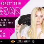 Look whos coming to ASU for InfernoFest 2016! Cant wait for @KeshaRose on Sept. 9th at Wells Fargo Arena! https://t.co/4a10vZ2Tlh