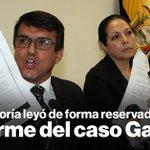 La lectura del informe del caso Gabela en Contraloría fue reservada » https://t.co/oBOqf0f3Nn https://t.co/W1jF3L4i9T