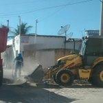 @prefmossoro recolhimento de material volumosos descartados em vias públicas, Av Pres Costa e Silva, Abolição IV https://t.co/KKRG2WPT4k