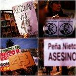#ENFOTOS | Estudiantes protestan por la visita de Peña Nieto a #Argentina https://t.co/bRu3Ep4k7Z https://t.co/Z4Gs0pkgUa