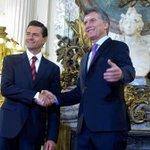 Peña Nieto: cuestionado en el mundo por gravísimas violaciones a los DDHH, recibido a lo grande en Argentina. https://t.co/8n2GXCAtpS