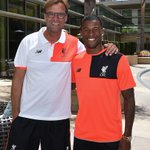 Klopp and Wijnaldum about to face the media https://t.co/aNmse16b67 https://t.co/jGcpFyfrkp