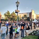 Just a few folks out tonight for #BricktownGO 🙌🏼 https://t.co/NtNSPT9sGX