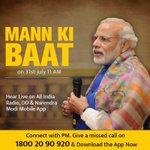 Do join #MannKiBaat programme, tomorrow at 11 AM. https://t.co/d72hQxAHzp