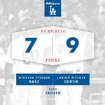 RECAP: #Dodgers complete comeback against D-backs, win series opener 9-7. 👊 #WeLoveLA 🔗: https://t.co/xeQVdGPHnh https://t.co/iXjzKoVsYJ