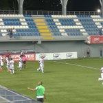 Minuto 6, golazo de cabeza de Yairo Yau para abrir el marcador en el estadio Maracaná. @SDAtleticoNal 0-1 @SanFraFC https://t.co/4stEROaYI7