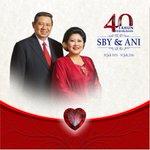 Alhamdulillah hari ini, 30 Juli 2016, SBY dan Ibu Ani memperingati 40 tahun pernikahan. #40thnSBYAni https://t.co/DeU4CdbPkd