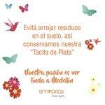 Medellín es de todos, y todos la podemos cuidar. Recomendaciones para que disfrutés nuestra #FeriaDeLasFlores https://t.co/XLvX3hNb6x
