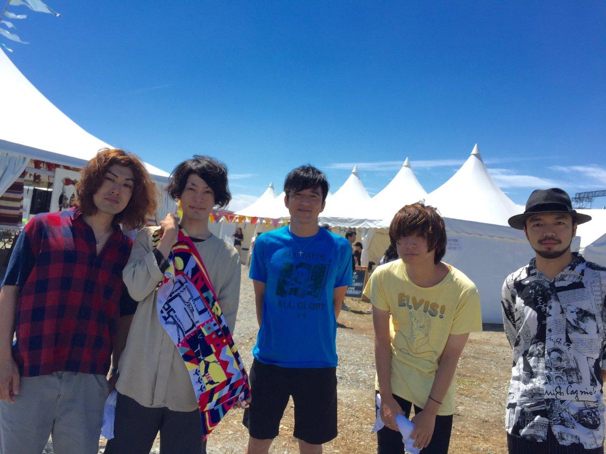「Reborn-Art Festival × ap bank fes 2016」出演終了しました!写…