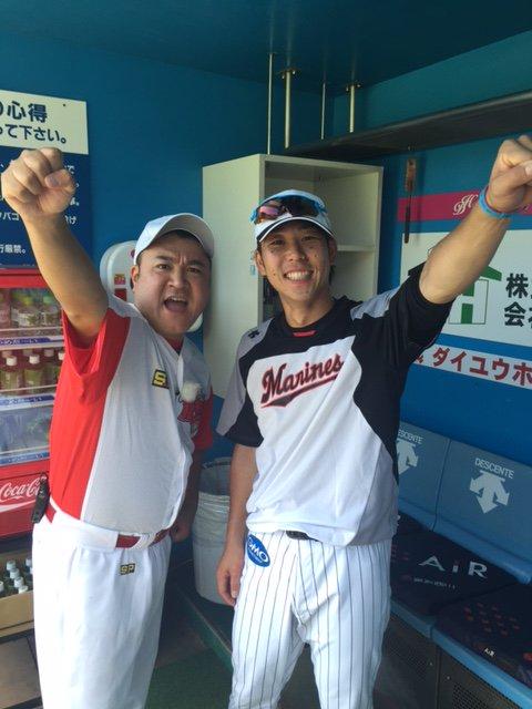 本日、フジテレビの番組「たまッチ!」の収録でザキヤマさんが来ています。鈴木キャプテンと勝利のWe A…