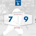 Lets go to the ninth! 👍 #Dodgers 9⃣, D-backs 7⃣ 😃 https://t.co/mHZy0kZILX