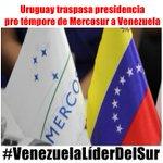 Venezuela avanza con el MERCOSUR ¡Viva la patria! ¡Viva Chávez! https://t.co/n6h5qCiAir