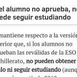 La ESO y Bachillerato será sólo para unos pocos adinerados. Esto es lo que votasteis todos los del PP. ¡Bravo! https://t.co/pyo9Dc2kjE