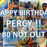 Happy 80th Birthday Uncle Percy! https://t.co/S2I8LExcGL