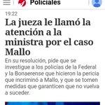 Confirman que el juicio que le va a hacer Mallo al Estado no lo pagarán ni Bullrich ni Carrió. Lo pagaremos todos. https://t.co/n1g1YlWqSp