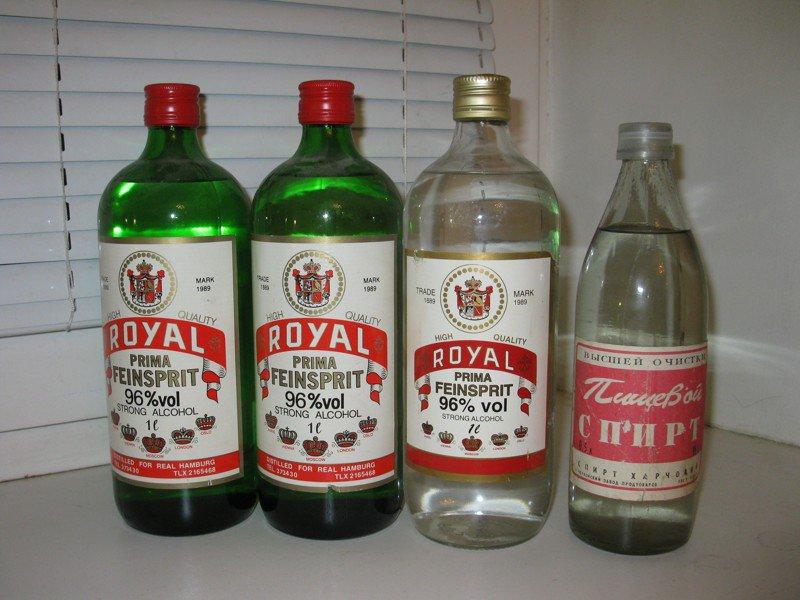 Спирт питьевой в домашних условиях