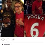 JUST IN: Stephen Merchant becomes the first person to have a Manchester United shirt signed by Paul Pogba. #MUFC https://t.co/oWIeo1HCu9