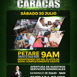 Hoy El Evangelio Cambia realizará #Jornada de #Acción #Social en la Redoma de #Petare #30jul y #31jul #UCV #Caracas https://t.co/dY93hiNYsB