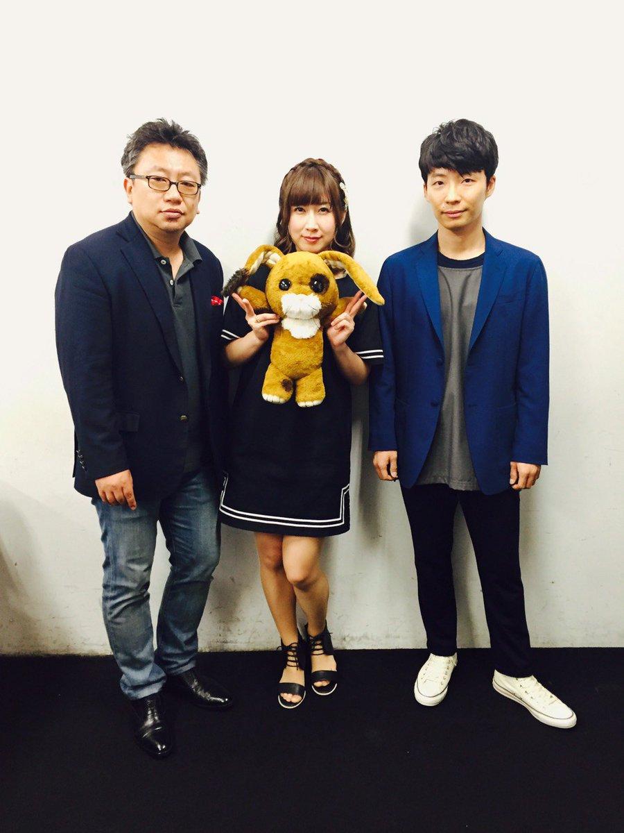 映画「ちえりとチェリー」舞台挨拶に中村誠監督、高森奈津美さんと共に星野源も登壇してきました!本日より…