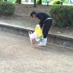 ポケモンの聖地 鶴舞公園で ロケット団の一員がゴミ拾いしてた😳 #ポケモンGO #鶴舞公園 #ポケモンの聖地 #ロケット団 https://t.co/Z8P7spWEyy